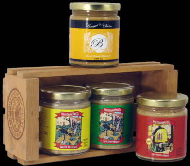 Primo's Gourmet Mustard Blends