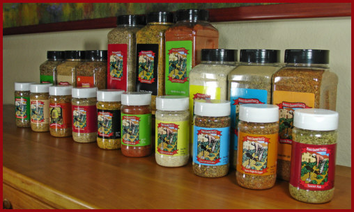 Primo's Gourmet Spices & Rub Line