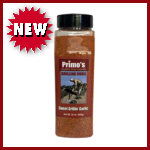 Primo's Sweet Grillin' Garlic Rub - Large