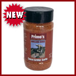 Primo's Sweet Grillin' Garlic Rub - Small